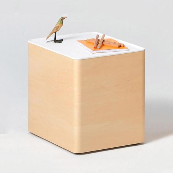 aisa アイサ hacono ハコノ キャスター付きワゴン・サイドテーブル