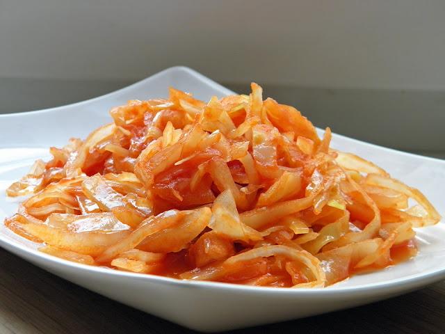 Rajčatové zelí Paleo maďarské