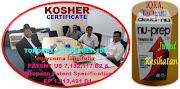 Fakta kelulusan 'KOSHER certificate' Tongkat Ali Nu-Prep 100