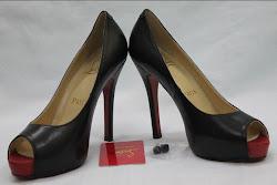 Christian Louboutin Replica Peep Toe Heels