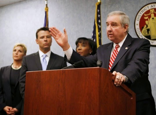 LA District Attorney Steven Cooley