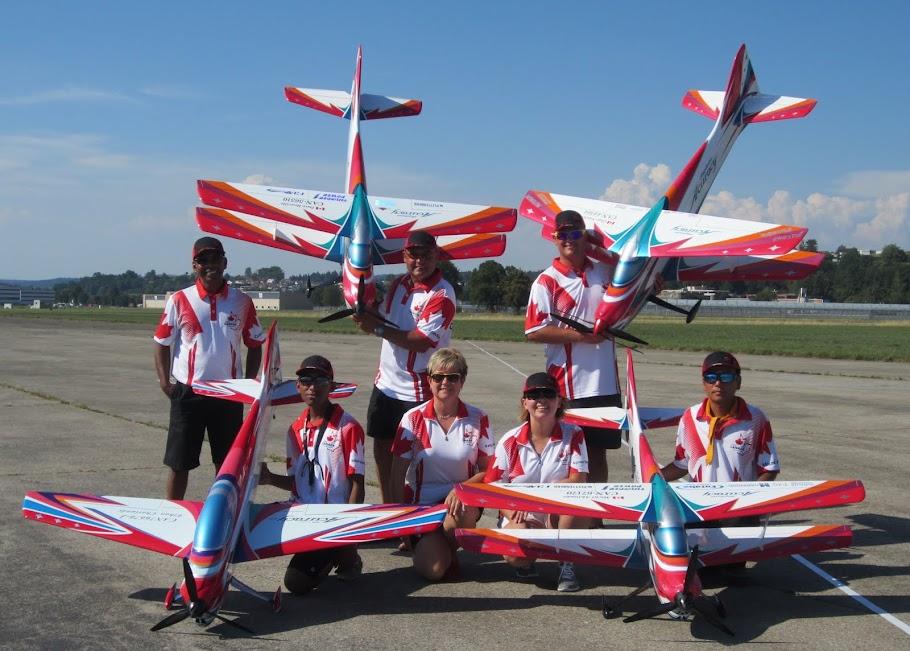 Team Canada F3A 2015
