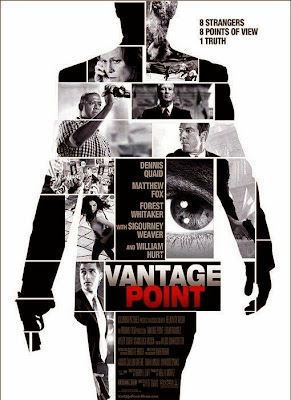 Poster Of Vantage Point (2008) In Hindi English Dual Audio 100MB Compressed Small Size Mobile Movie Free Download Only