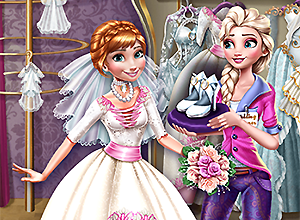 Elsa Preparing Anna's Wedding