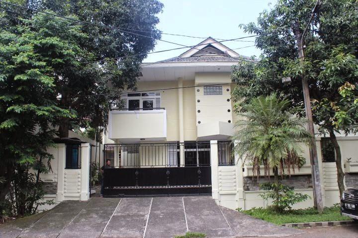 Rumah mantan Artis Mandra