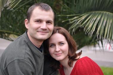 Это я и моя жена Ксения