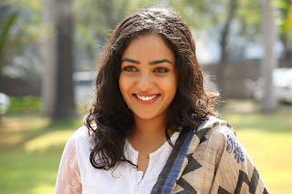 Nithya Menon Picture Gallery in White Salwar Kameez at Malli Malli Idi Rani Roju Success Meet ~ Bollywood and South Indian Cinema Actress Exclusive Picture Galleries