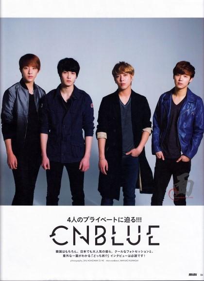 [R�PORTAJ] CN Blue - Mini Magazine July Issue /// 05.06.2013