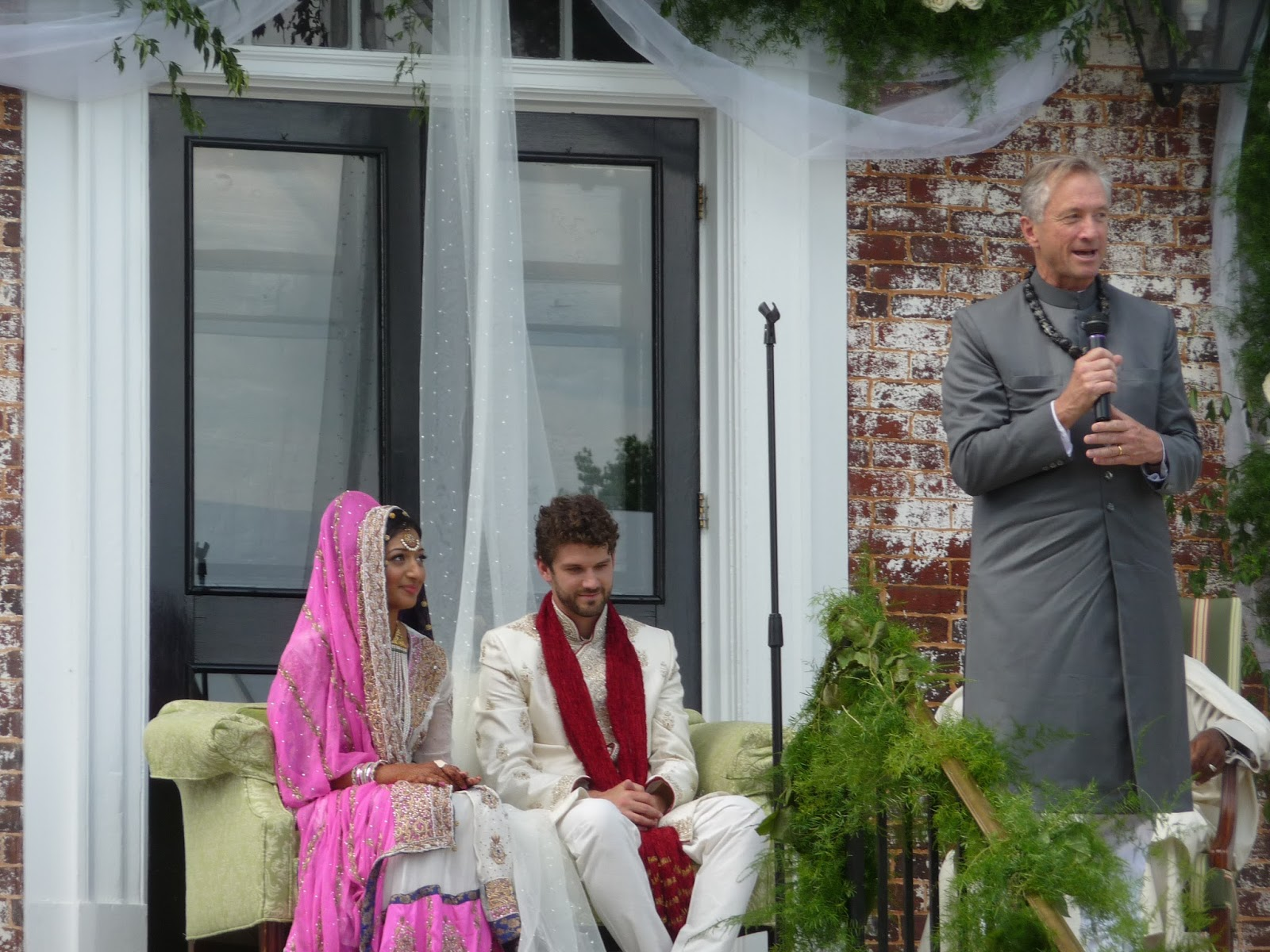 Povey Prattle The Background The Couple My Friends The Wedding Ceremony The Shaykh The Priest