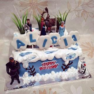 Kue Ulang Tahun Frozen Anak