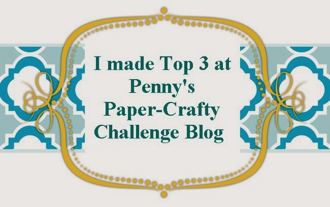 4 x Penny's Paper-Crafty Top 3