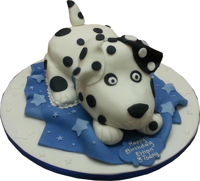 Spotty Dog Cake Starry Cakes
