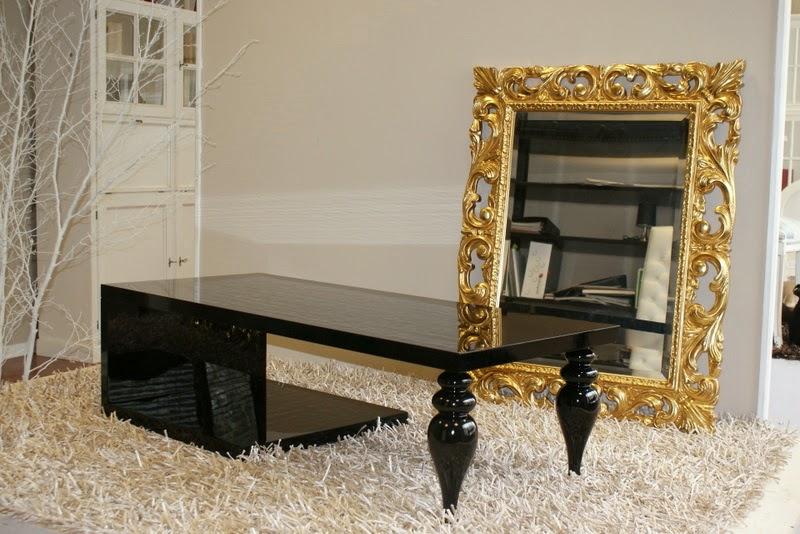 Tavolino da salotto moderno laccato lucido nero ebay for Tavolino salotto nero