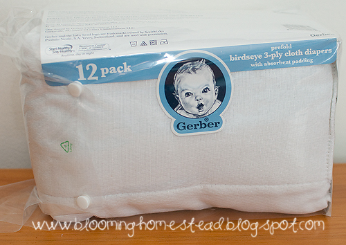 Baby Burp Cloths Blooming Homestead