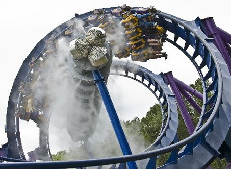 Bizarro at Six Flags