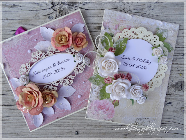 Kartki ślubne / Wedding cards
