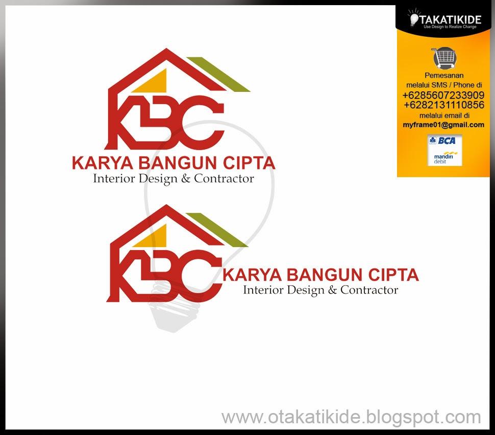 Desain logo perusahaan yang bergerak di bisnis kontraktor dan interior ...