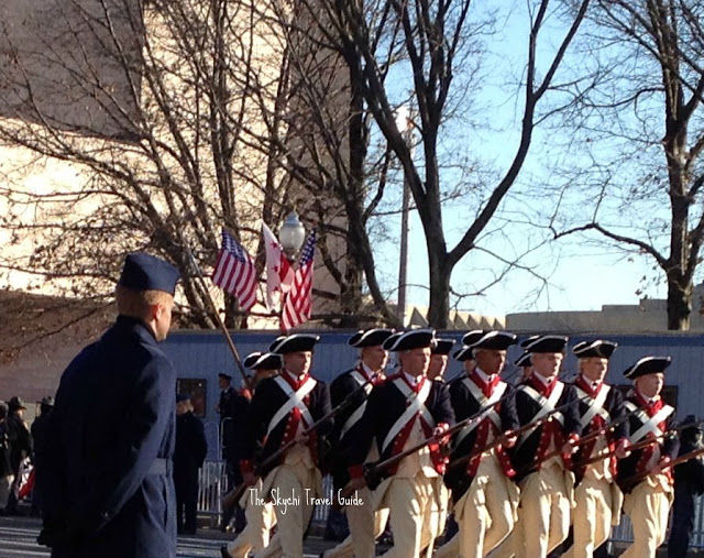 "<img src=""image.gif"" alt=""This is 57th Presidential Inauguration Parade Colonial Army"" />"