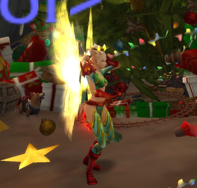 how to get christmas transmog wow