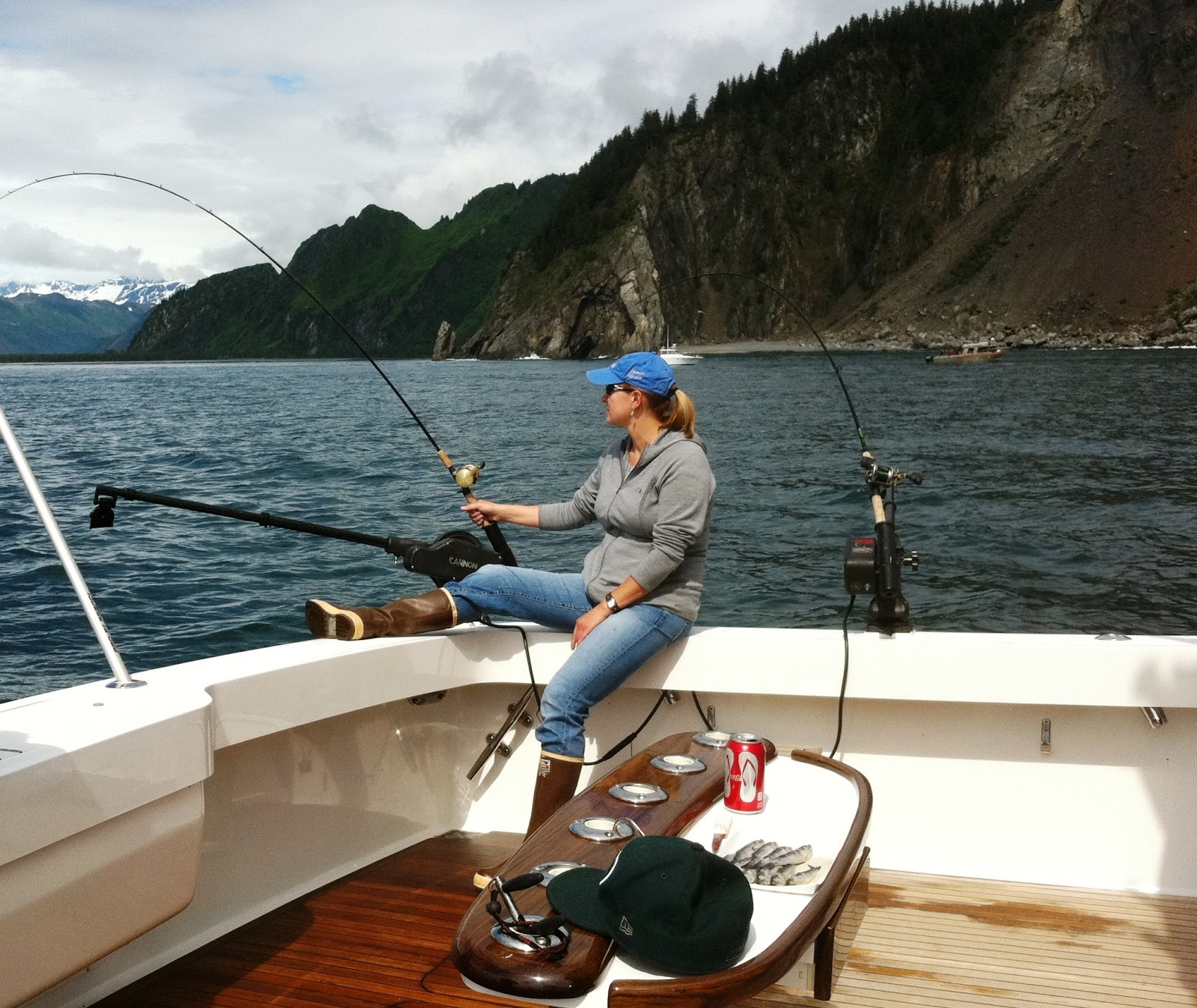 how to fish for silver salmon in alaska