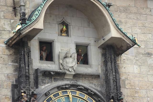 Парад апостолов Пражские куранты, (Pražský orloj)