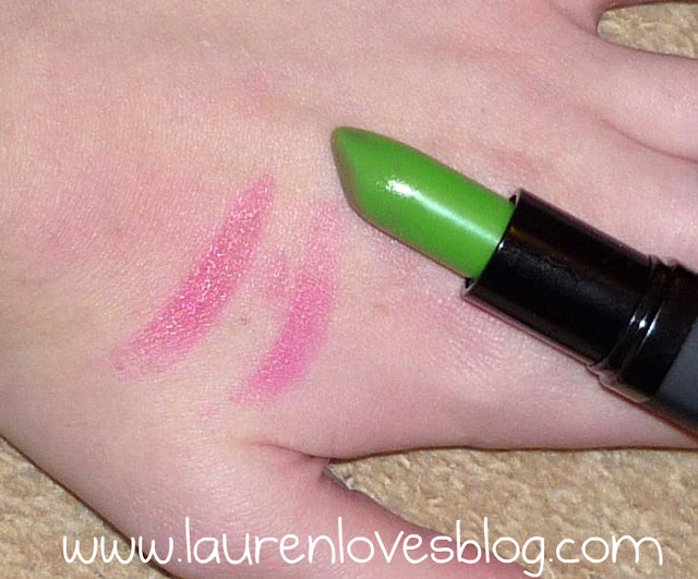 rouge à lèvres vert green lip paint Barry M BarryM st-patrick's day saint-patrick rose magique