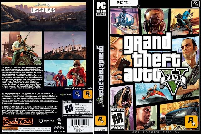 تحميل وتثبيت لعبة Grand Theft Auto V PC برابط واحد مباشر