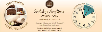 FREE Cafe Escapes K Cup Sampler Pack (First 14,000)