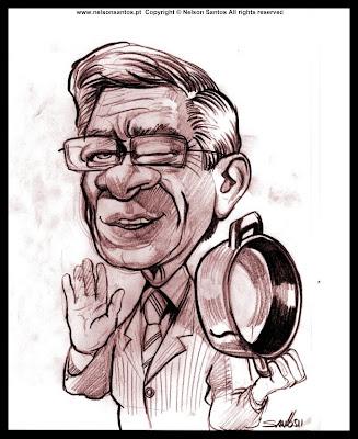 caricatura Fernando Nobre