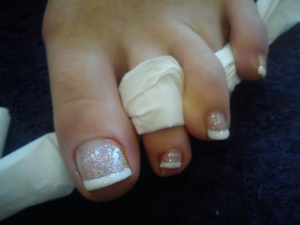 Beauty Therapy Svq 1: first french pedicure