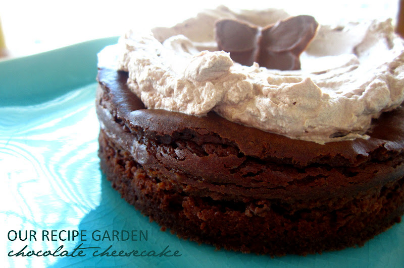 dark chocolate whipped cream