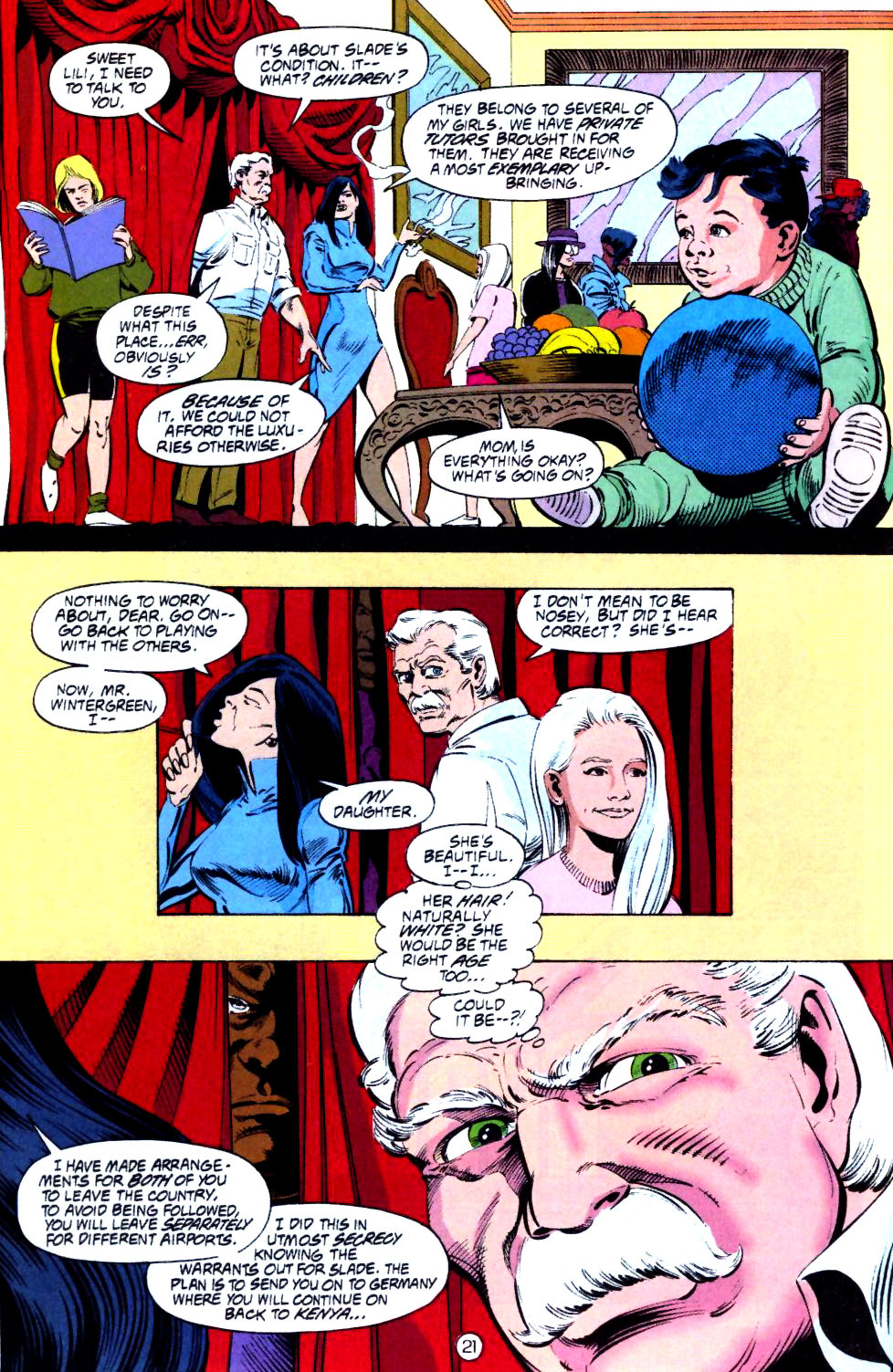 Deathstroke (1991) Issue #15 #20 - English 22