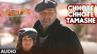 """Chhote Chhote Tamashe Full Song (Audio) """" SANAM RE """" Pulkit Samrat, Yami Gautam, Divya khosla Kumar"""