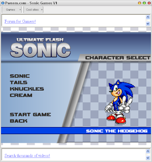 Sonic Games 1.0 full version free download