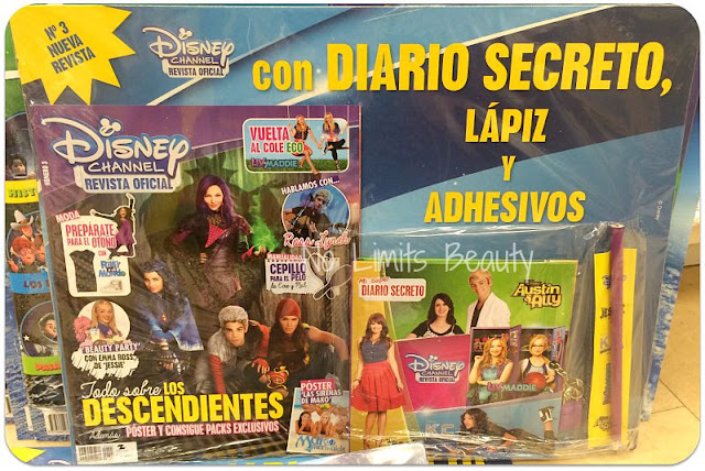 Regalos revistas Octubre 2015: Disney Channel revista