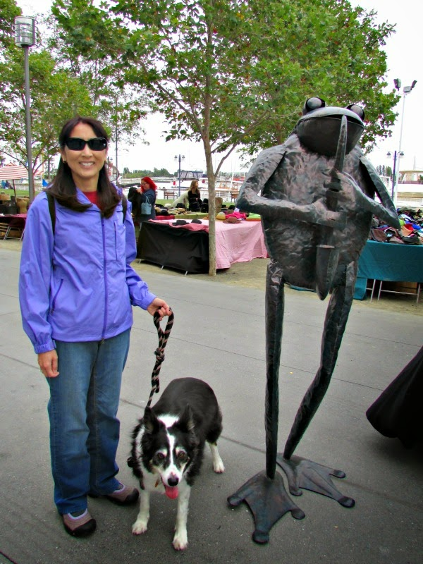 Jack London Square // Musical Metal Frog
