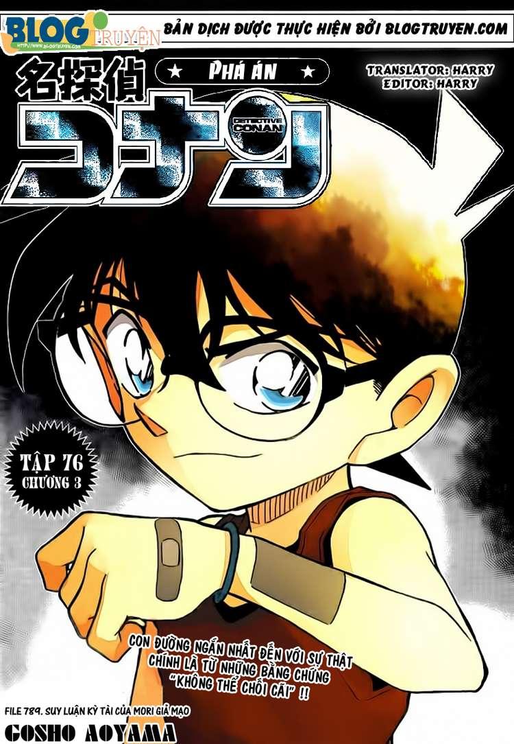 Detective Conan - Thám Tử Lừng Danh Conan chap 789 page 1 - IZTruyenTranh.com