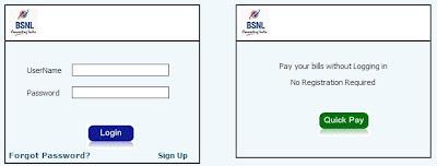 Bsnl Portal login