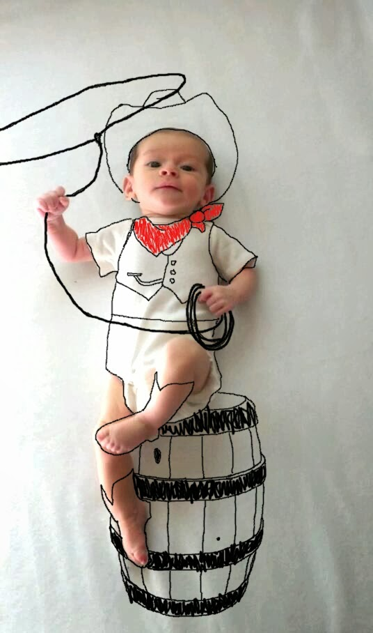 Creative Mother Turns Her Son s Baby Pics Into Cute Imaginary Adventures