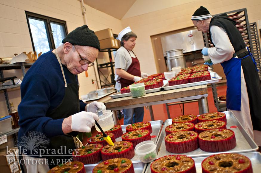 Abbey Monk Fruit Cake