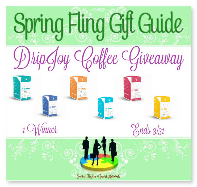 DripJoy Coffee Giveaway