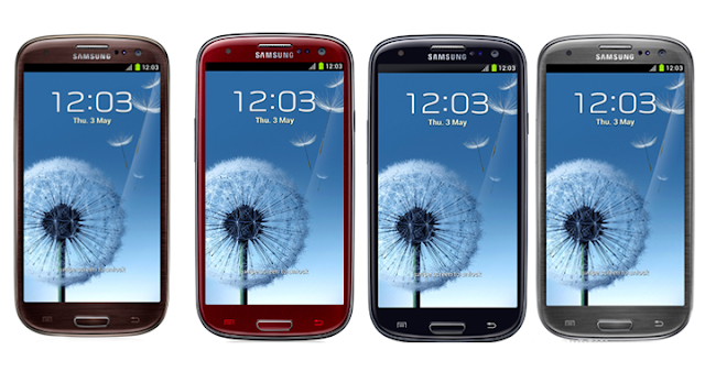 Samsung Galaxy S III new colors