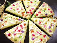 Resep Membuat Kue Kering Pizza Rainbow Cookies Spesial
