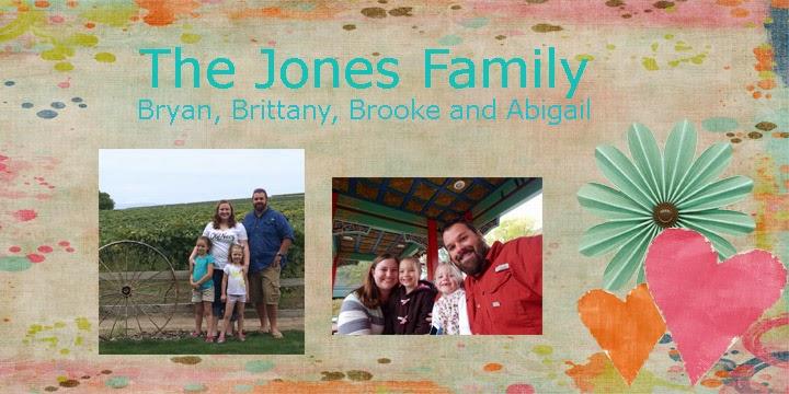 Jones Family Blog