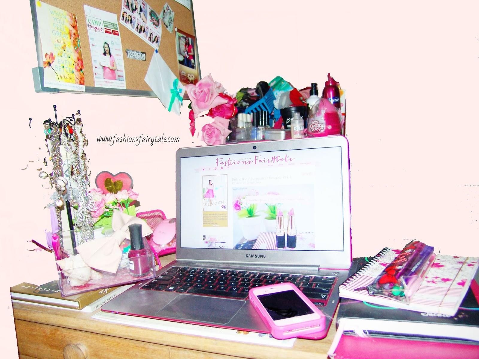My Blogging Space & New Blog Design