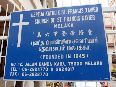 ST francis Xavier Church 1845