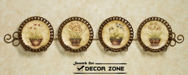 decorative wall plates plate pl2205 decorative wooden plate wall - Decorative Wall Plates