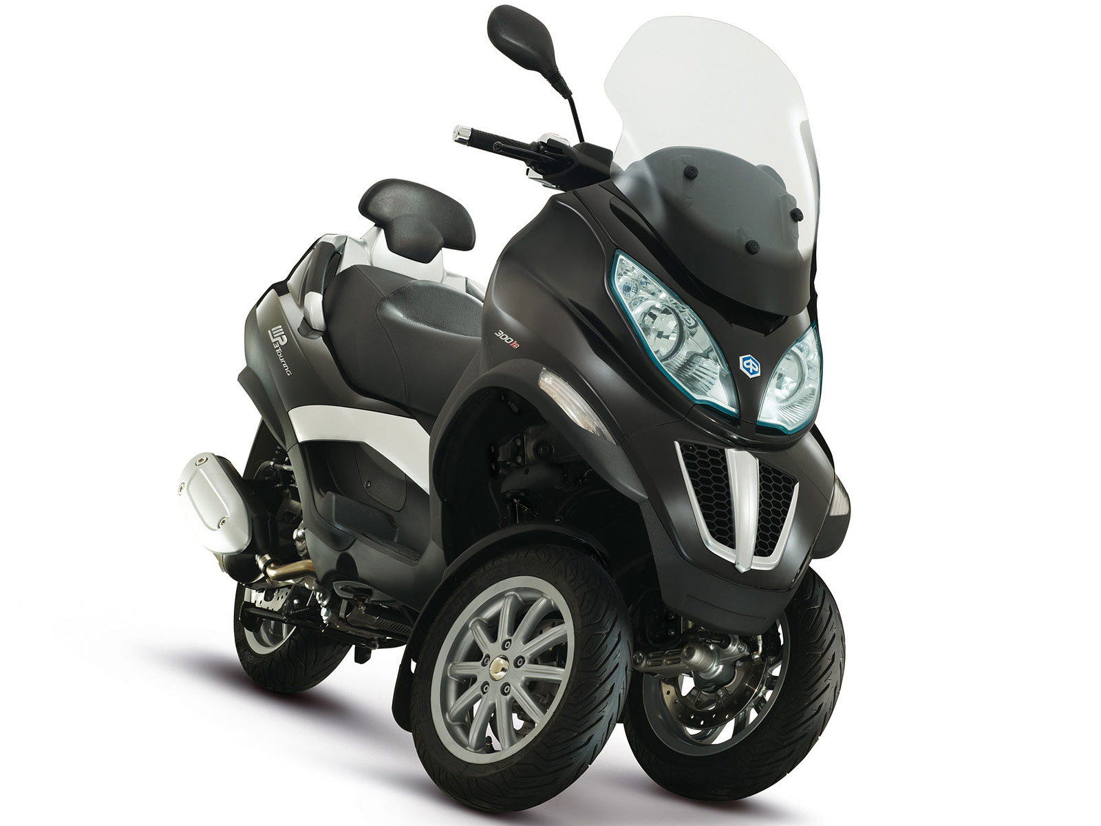 2012 piaggio mp3 touring 125ie scooter pictures. Black Bedroom Furniture Sets. Home Design Ideas