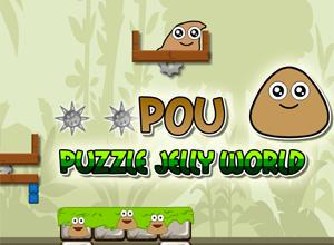 Pou Puzzle Jelly World