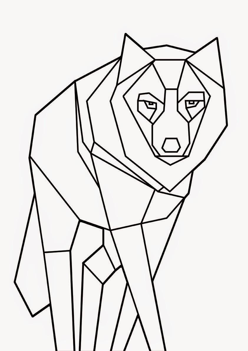 GISEÑO DRÁFICO: Animales geométricos